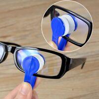 Mini Portable Microfiber Eyeglass Sunglasses Cleaning Brush