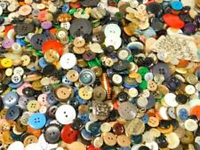 Huge Lot 4 lbs Vintage Sewing Buttons Celluloid Wooden Metal Variety Estate Find