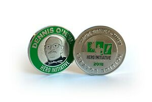 Hero Initiative Challenge Coin, Dennis O'Neil Creator Edition; only 1000 made!