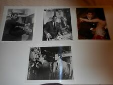"""James Bond From Russia With Love Lot of 4 8"""" X 10"""" Press Photos 1 Color 3 B&W"""
