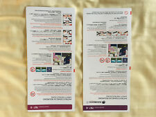 AEROMEXICO BOEING 787-9 and 787-8 SAFETY CARDS
