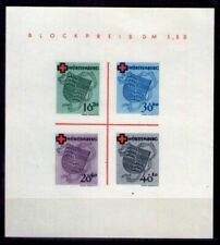 WURTTEMBERG FRENCH ZONE Mi. #Block 1 mint MNH stamp sheet! CV $180.00