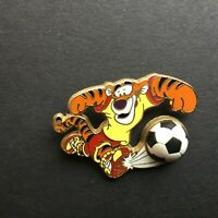 WDW - Tigger Soccer - Free D - Black Nose Disney Pin 62030