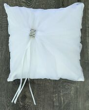 Ring Bearer Pillow Small 7 Inches Square Wedding