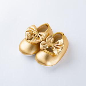 Infant Crib Shoes Soft Soled Baby Girls Xmas Birthday Festivals Shoes Prewalker
