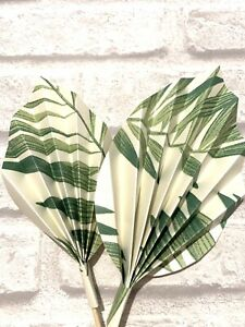 2 Pam Leaf , Palm Spears Cake Decoration , Cake Topper