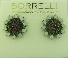Sorrelli Concrete Jungle Earrings ERACK221ASCJ antique silver tone