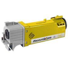 2PK KU054 Yellow Laser Toner Cartridge for Dell 1320 1320c 310-9062 KU-054 TP114