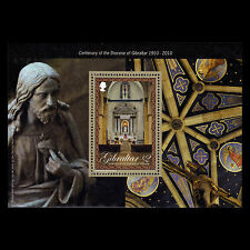 Gibraltar 2010 - 100th Anniv Diocese of Gibraltar Religion Art - Sc 1252 MNH