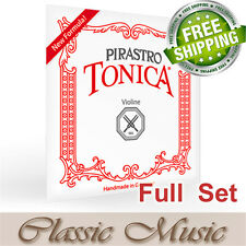 Pirastro Tonica Violin Strings Full Set 4/4 Ball End (412021) Free Shipping!
