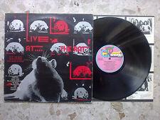 LIVE AT THE RAT VOL.2 - LP 1978 ITALY ULTRARARE PRESSING ERROR w/ DRONES B-side!