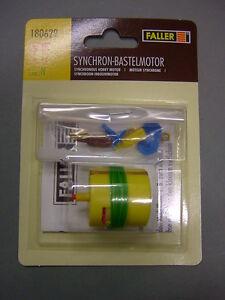 Faller 180629 Synchron-Bastelmotor / Motor / H0 TT N / Neu&OVP / Vom Fachhändler