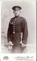 CDV photo Soldat - Mittweida um 1900