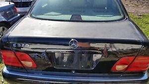 Mercedes W210 E Class 98-02 E320 E430 E300TD E55 AMG TRUNK LID LIFT GATE BLACK