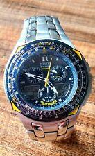 Citizen Skyhawk Blue Angels JR3090-58L Wrist Watch for Men
