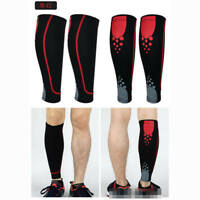 Popular Unisex All Sports Exercise Leg Calf Leg Brace Support Stretch Sleeve