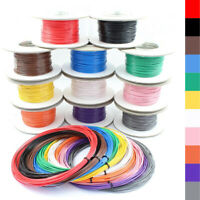 Single Core Stranded Wire Cable 12v 24v Thin Wall Wire All AMP Ratings 11 Colour