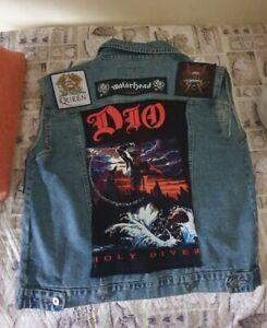 Gilet Metal Iron Maiden Ac/dc Judas Priest Ecc.