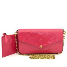 Louis Vuitton Monogram Vernis Pochette Felice Chain Wallet Shoulder Bag /40210