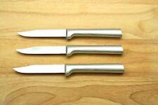 "RADA (3) THREE EACH R101 REGULAR PARING KNIFE BLADE 3-1/4"" O.A. 6-3/4"" USA"