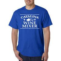 Catalina Wine Mixer T-Shirt - Prestige Worldwide Boats & Hoes POW! Funny Comedy