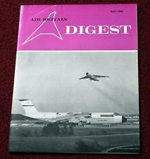 Air Britain Digest Magazine 1969 May Jurca,Ohka
