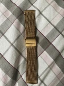 Larsson & Jennings Rose Gold  20mm (Fits 40mm Face) Milanese Watch Strap