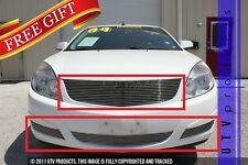 GTG 2007 - 2009 Saturn Aura 4PC Polished Replacement Combo Billet Grille Kit