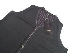 HOLLAND ESQUIRE Waistcoat Knit 🌍 Size S 🌎 RRP £95+ 📮 WORLDWIDE FREEPOST