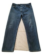 Vintage Levis 505 Orange Tab Fades Selvedge Raw Denim Jeans 36 x 30 Made in USA