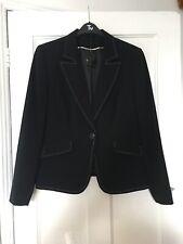 BNWT Dorothy Perkins Size Uk 18 Black Suit Jacket.  (c10)