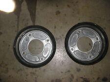 1997 Suzuki King Quad LT-F 300 Front Brake Drums Set of 2 MAX DIA 180.7mm