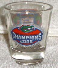 Florida Gators 2008 bcs National Champs Shot Glass
