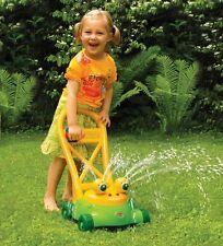 """Kinder Rasenmäher Frosch mit Wasserspritz """"GOWI"""" Sandkasten 558-83"""