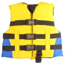 Mw Child Kid Life Jacket Water Vest Ski Pfd 30-50lbs Crotch Strap Yellow Uscg