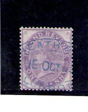 Gran Bretsaña Fiscal Postal año 1871 (AJ-356)