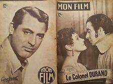 """MON FILM 1949 N146 """" LE COLONEL DURAND"""" avec PAUL MEURICE et MICHELE MARTIN."""