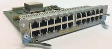 HP PROCURVE J9307A 24-PORT POE+ GIG-T ZL SWITCH MODULE FOR E5400/E8200