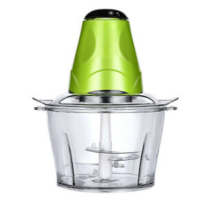 2L Multi-function Electric Food Chopper Food Processor Meat Grinder with Bowl