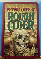 Rough Cider by Peter Lovesey 1986 Hardcover Mystery Book