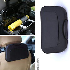 NEW Folding Auto Car Back Seat Table Drink Cup Tray Food Holder Stand Desk black
