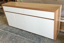 Local make tassie oak & high gloss Polyurethane buffet side board TH004