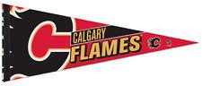 CALGARY FLAMES NHL Hockey Team Premium Felt NHL Hockey Collectors PENNANT