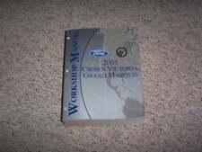 2005 Mercury Grand Marquis Shop Service Repair Manual GS LS LSE Premium Ultimate