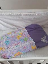 Sparkling Butterfly Dolls sleeping bag