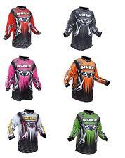 Wulfsport Arena Cub Race Shirt Motorbike Motocross MX Tops Kids