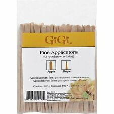 GiGi Fine Applicators For Eyebrow Waxing 100 Count