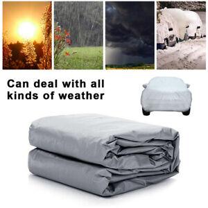 Full Car Cover Waterproof Sun UV Snow Dust Rain Resistant Car Protection XL Size
