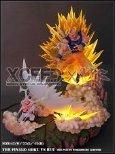 DBZ -DragonBall Z- Super saiyan Son SJJ Goku VS Buu Resin statue figure