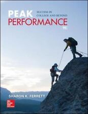 Peak Performance: Success in College and Beyond by Ferrett, Sharon